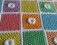 Load image into Gallery viewer, Free Crochet Patterns Daisy Cluster Peach Unicorn Designs