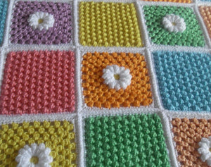 Free Crochet Patterns Daisy Cluster Peach Unicorn Designs