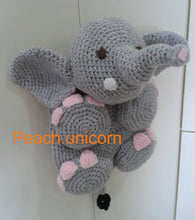 Load image into Gallery viewer, Elephant Bag Crochet Pattern