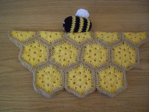 Crochet Pattern for Bumble Bee blankie