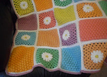 Load image into Gallery viewer, Lap Blanket Crochet Pattern Free