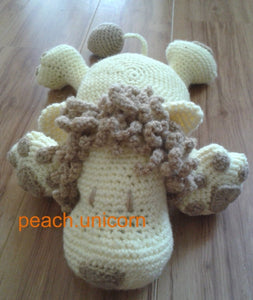 Lion Crochet Pattern Peach Unicorn Designs