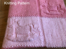 Load image into Gallery viewer, Rocking Horse Knitting Blanket Pattern