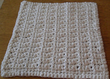 Load image into Gallery viewer, Cotton Dishcloth Free Crochet Pattern