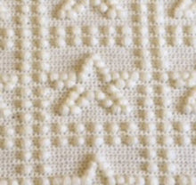 Load image into Gallery viewer, Beginners Crochet Patterns Stars Baby Blanket