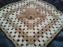Load image into Gallery viewer, Crochet pattern for Baby Lovey Teddy Bear