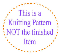 Load image into Gallery viewer, You are my Sunshine Baby Blanket KNITTING PATTERN one-piece (Plain or Intarsia)