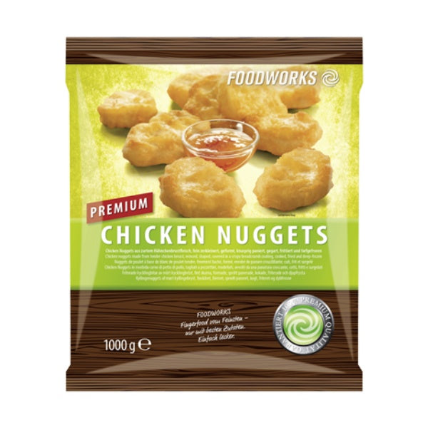 Chicken Nuggets gegart 1kg (gefroren)