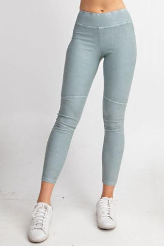 Faded Sage Soft Leggings - My Sister's Porch