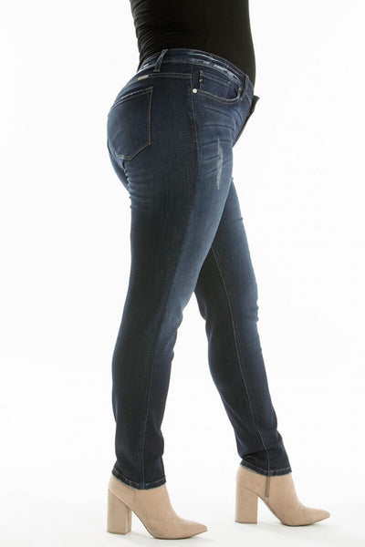 KanCan Mid Rise Super Skinny Dark Wash - My Sister's Porch
