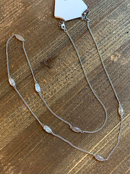 Darlene Silver Necklace - My Sister's Porch