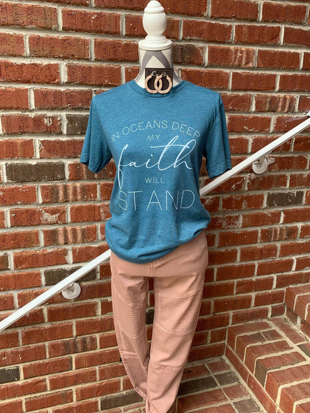 Oceans Deep Graphic Tee - My Sister's Porch