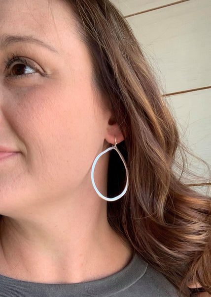 Bora Silver Dangle Earrings - My Sister's Porch