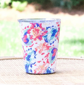 Stainless Coffee Tumbler in Peony Sorbet