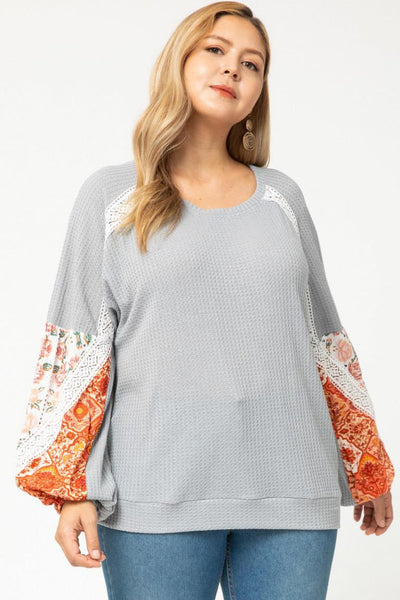 Dreamy Lightweight Top in Grey - My Sister's Porch