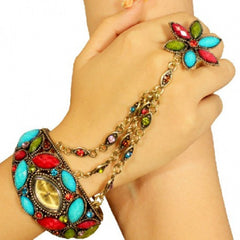 Bracelet Watch and Ring for Womens