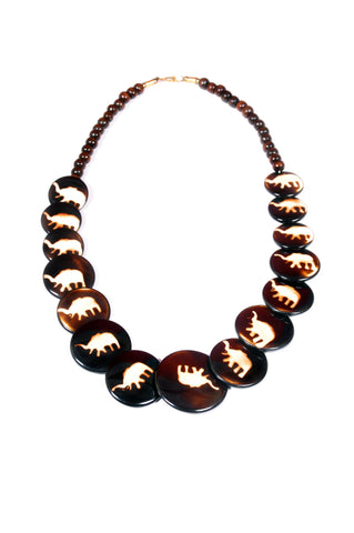 Elephant Beaded Necklace