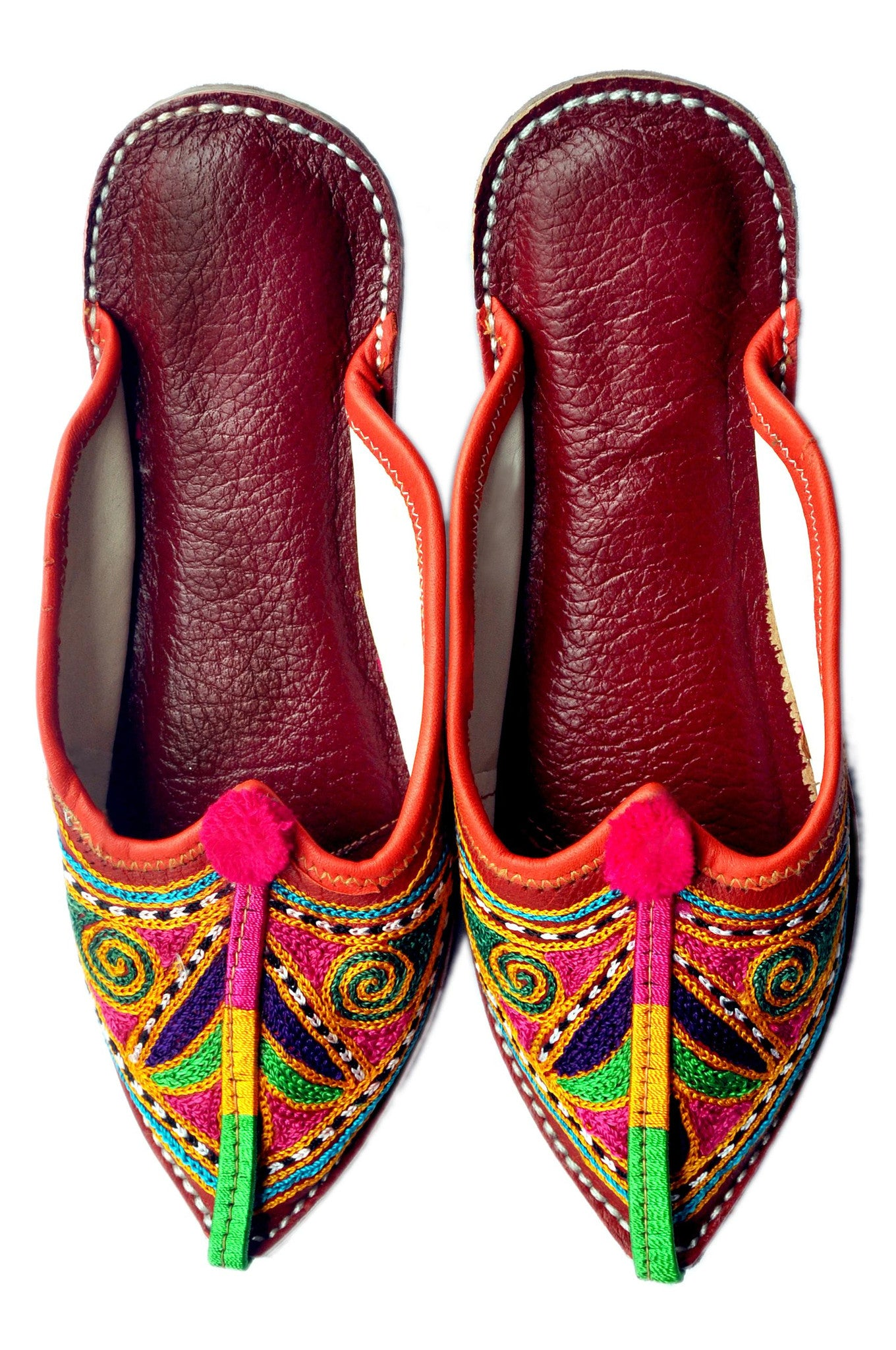 Multicolor Ethnic Women's Flats  Alpha