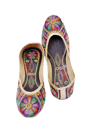 Vintage Embroidered Ethinc Flats