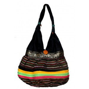Black Ethnic Bag