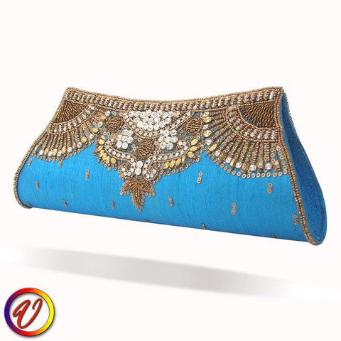 Embroidered Clutch Purse for Women
