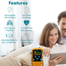 Rechargeable Pulse Oximeter Features