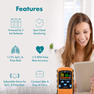 Features of CMI Health Battery Operated Pulse Oximeter