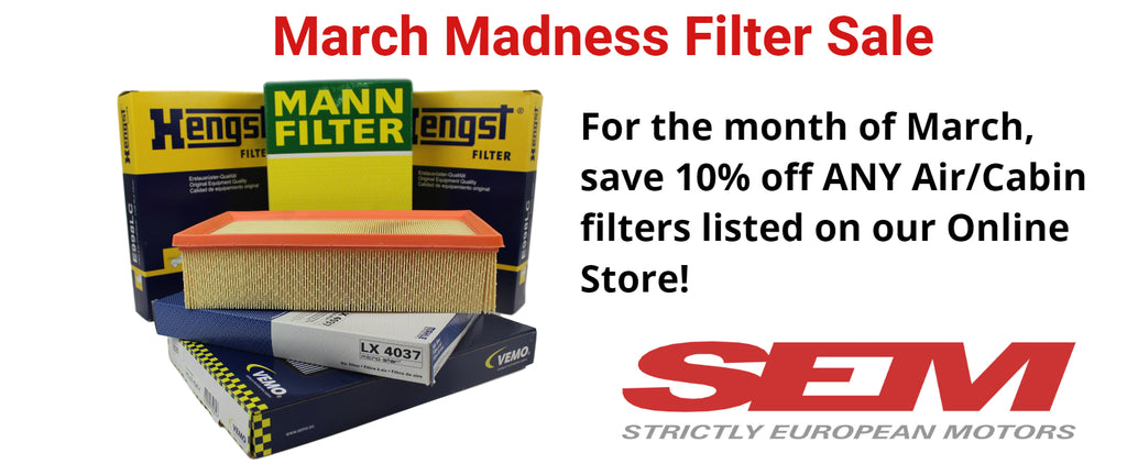 March Madness Filter Sale 2019