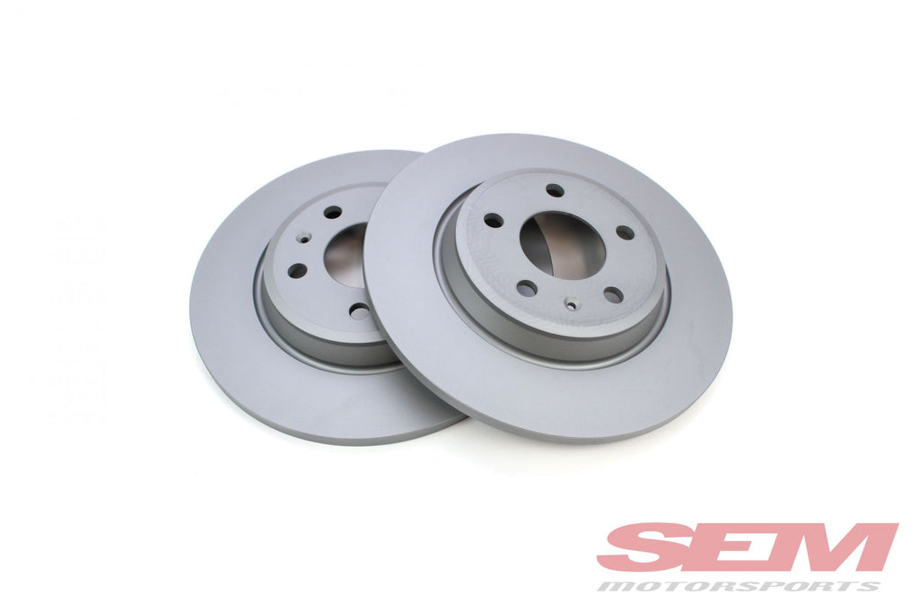 Rear Brake Rotors Zimmermann Coated 300x12mm