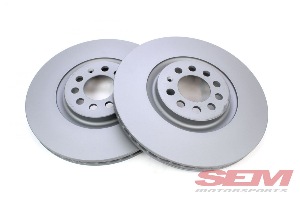 Front Brake Rotors Zimmermann Coated 312x25mm
