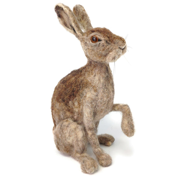 The Crafty Kit Company Wild Scottish Hare Needle Felting Kit