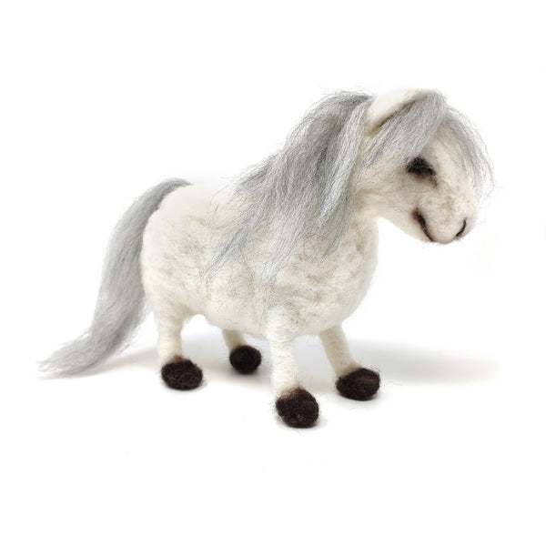 The Crafty Kit Company Shetland Pony Needle Felting Kit
