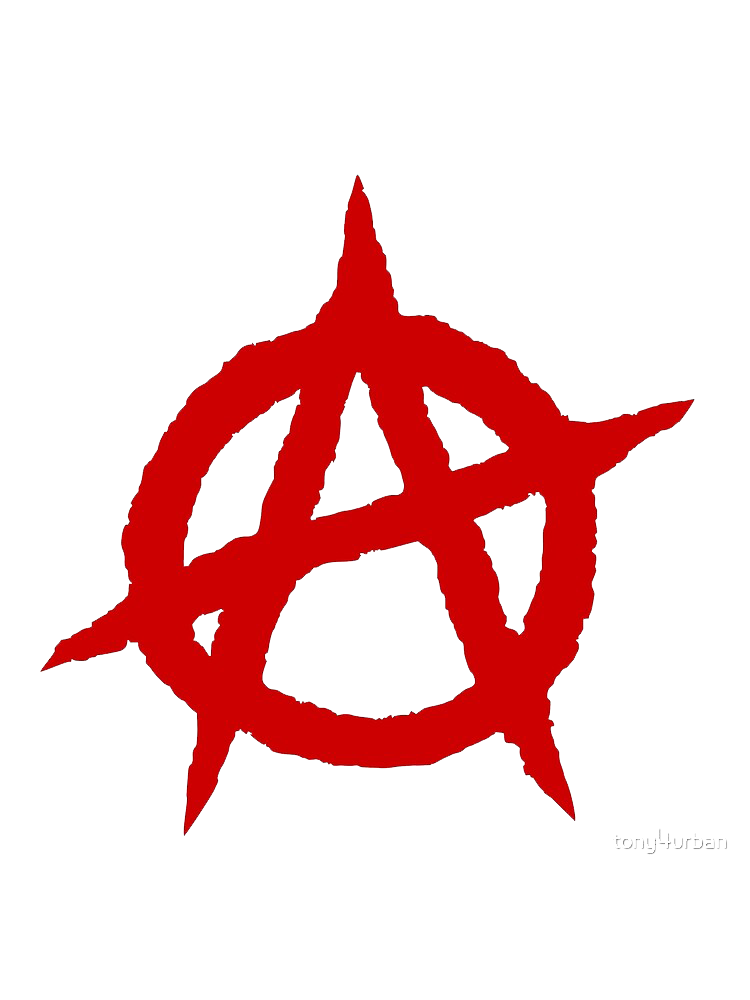 ANARCHY  HEAT STICKER DECALS FOR FABRIC , SHOES, PLASTIC