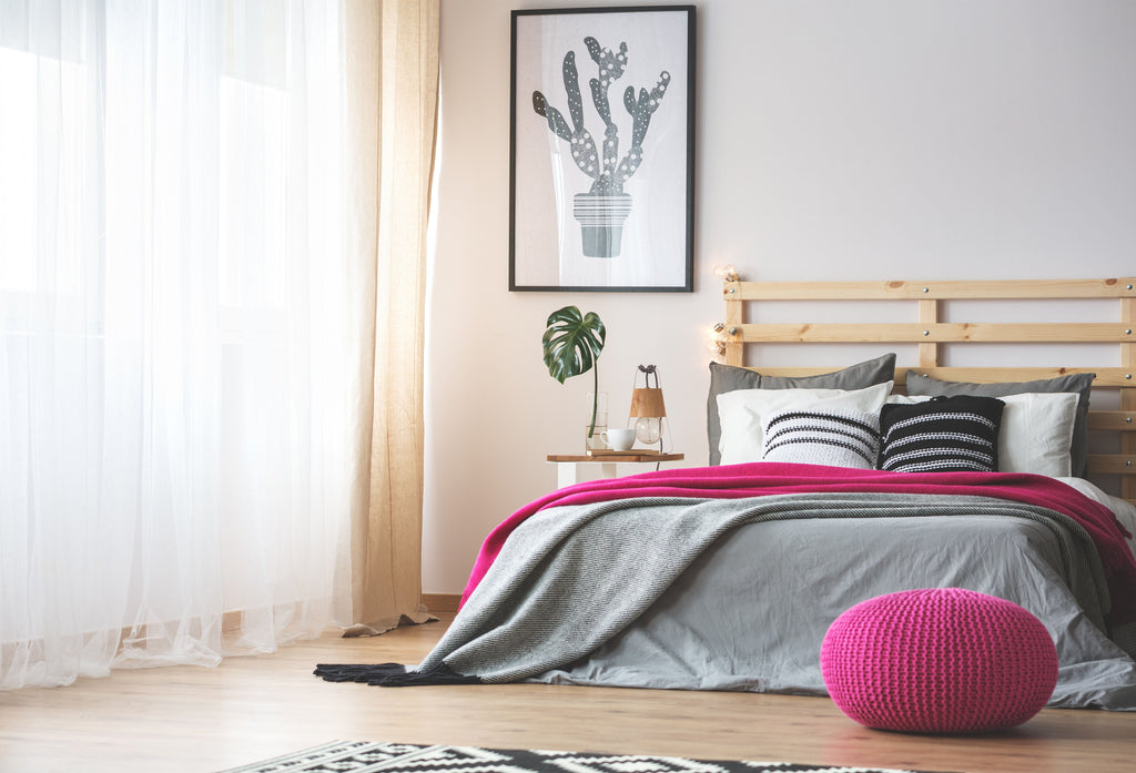 7 ways to make your bedroom more restful.