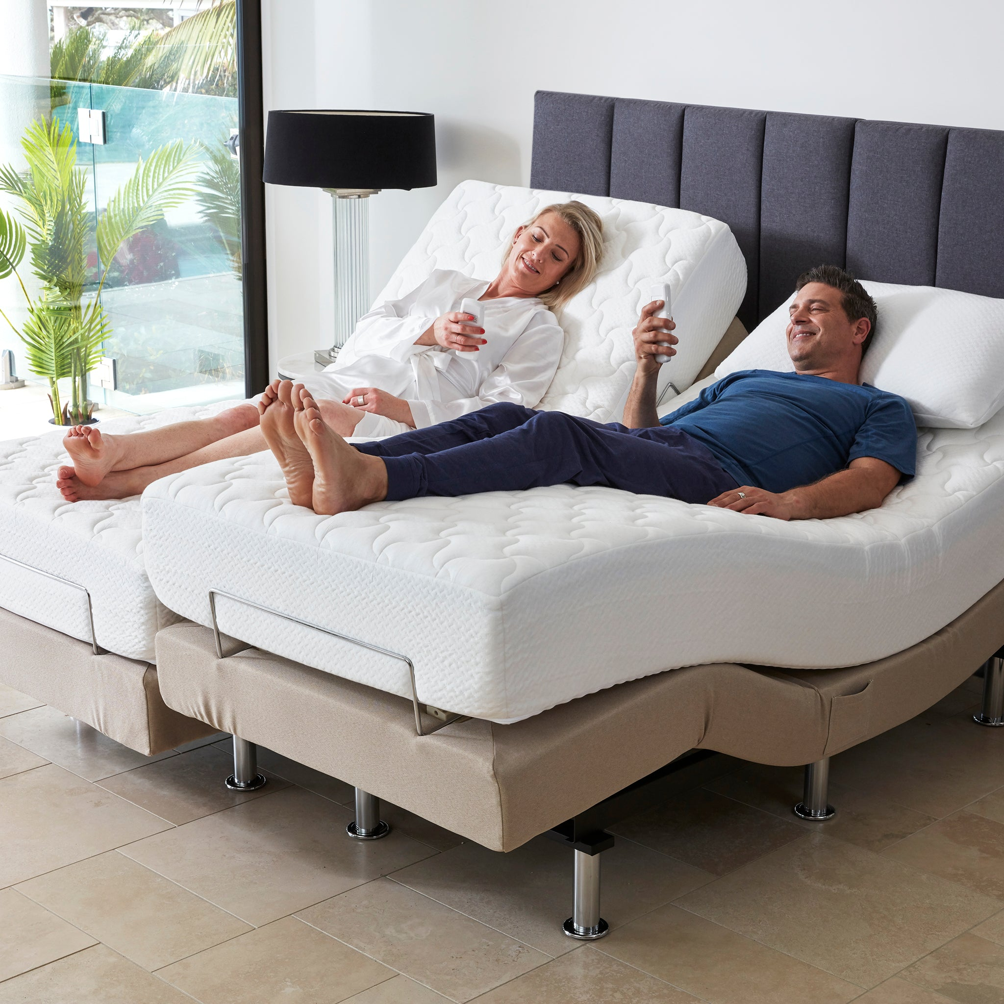Picture of: Perfect Fit Adjustable Massage Bed Split Queen Bambillo Au