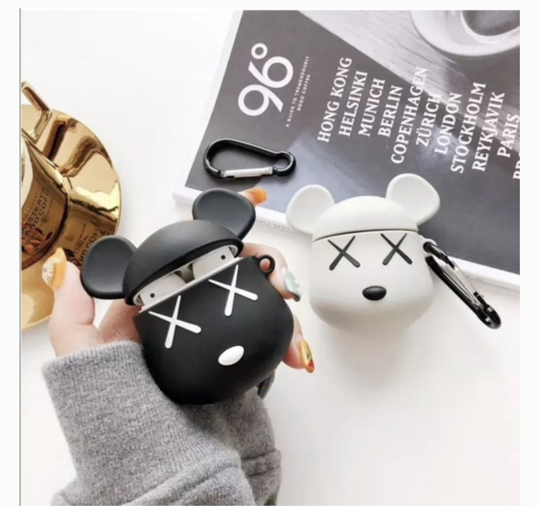Bathing ape / Bear Kaws Airpod Case