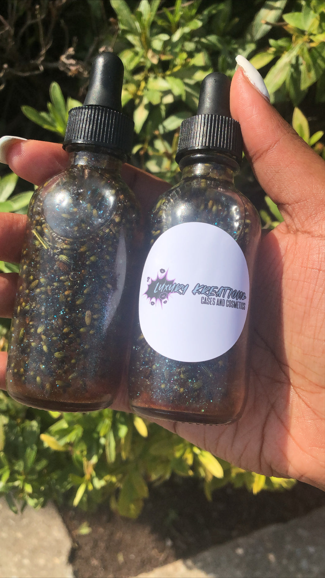 Lavender Shimmer Body Oil