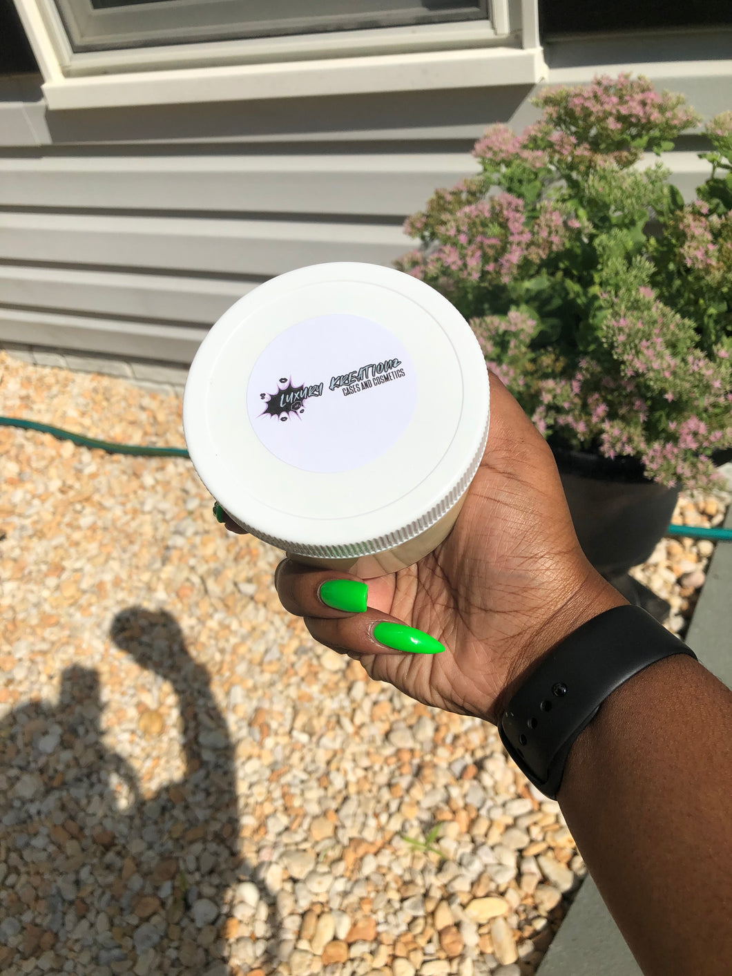 Baby Powder Whipped Shea Butter