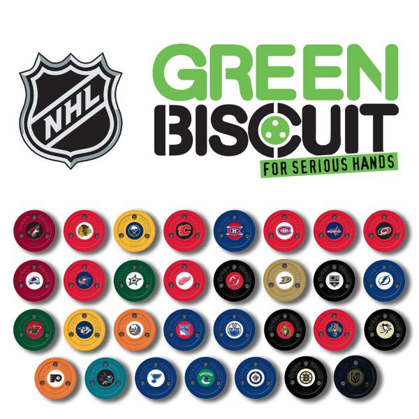 NHL Team Green Biscuit