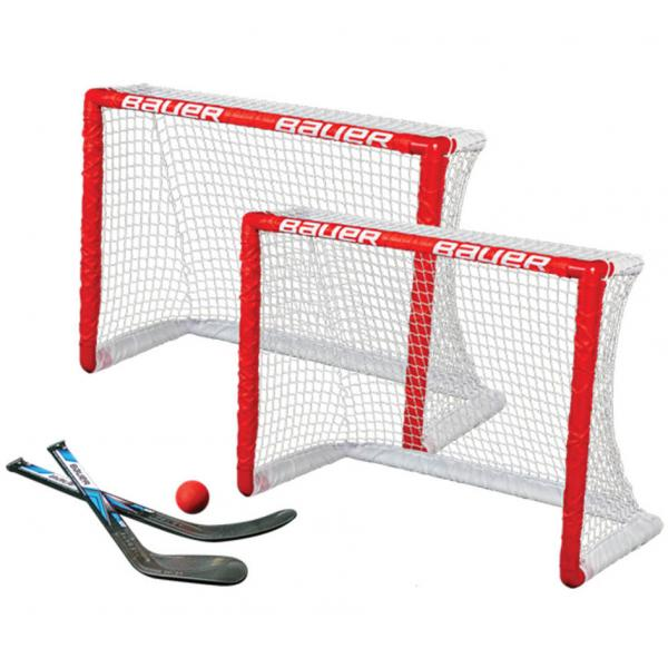 Bauer Knee Hockey Goal Set Twin Pack