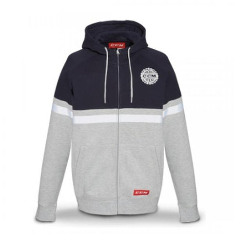 F4750 CCM HERITAGE FULL ZIP HOODED FLEECE