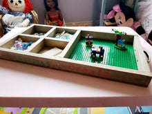 Load image into Gallery viewer, Portable Lego Box