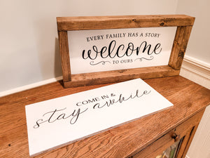 Interchangeable Farmhouse Signs Workshop