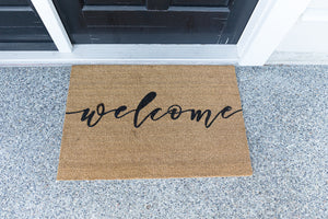 DIY Personalized Doormat