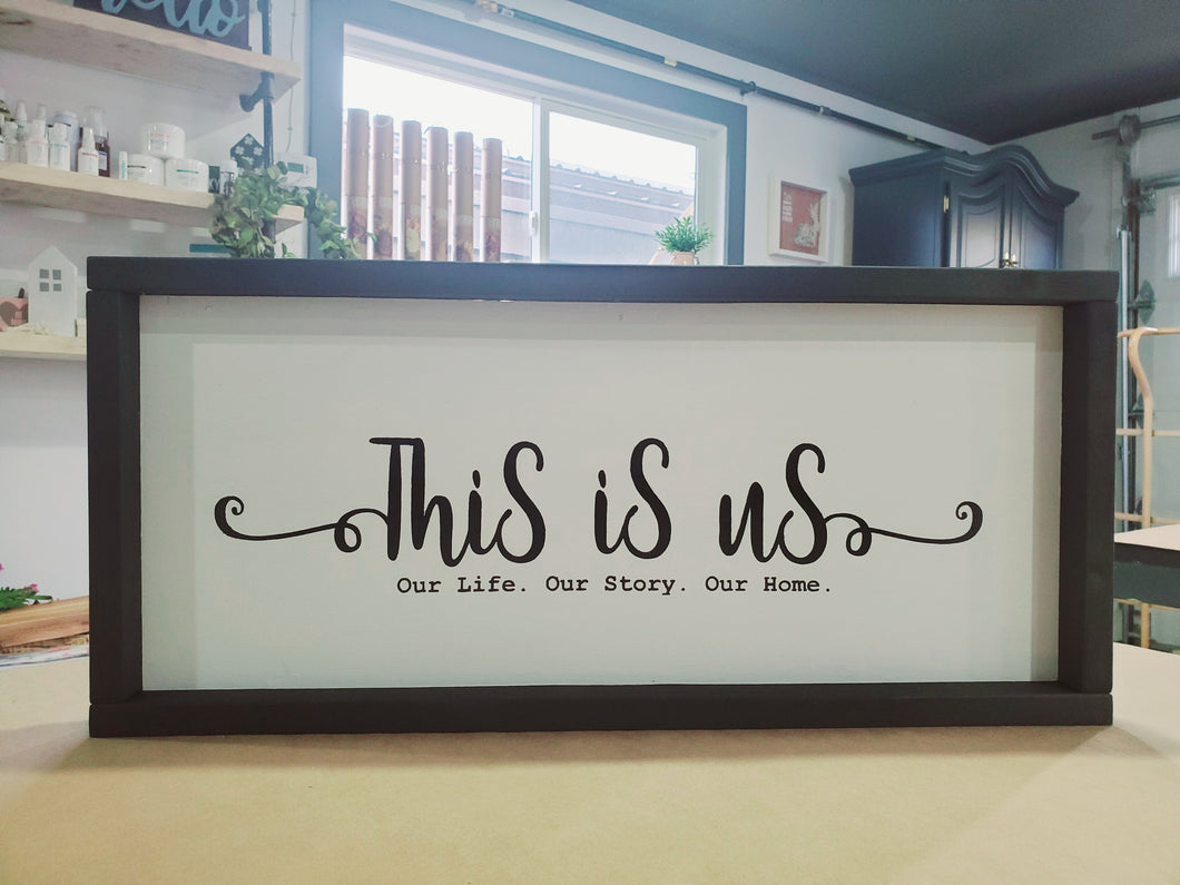 Personalized Framed Sign