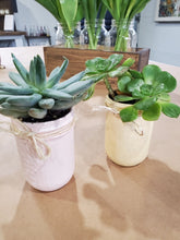 Load image into Gallery viewer, Mommy & Me Succulent Workshop