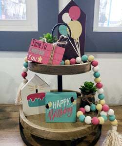 DIY Birthday Decorative Tray