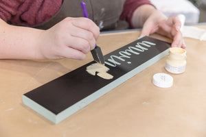 Wooden Sign Workshop