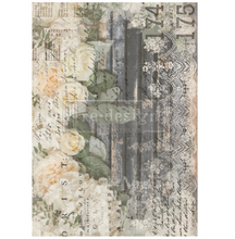 Load image into Gallery viewer, Redesign Decor Transfers - White Fleur