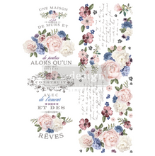Load image into Gallery viewer, Redesign Decor Transfers - Lavender Bush
